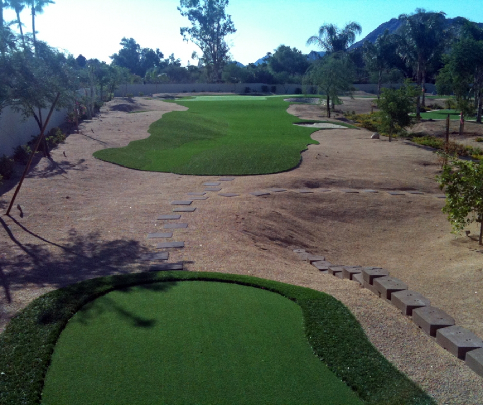 Artificial Grass Installation In Paradise Valley, Arizona
