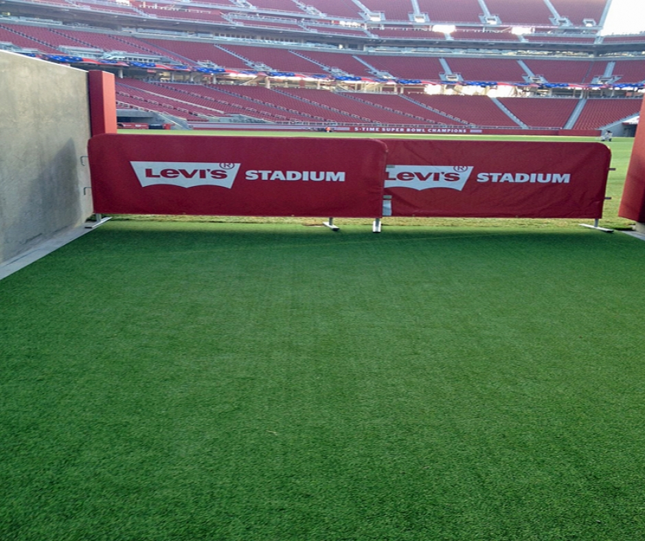 Levis stadium sports Santa Clara California athletic field artificial grass synthetic turf