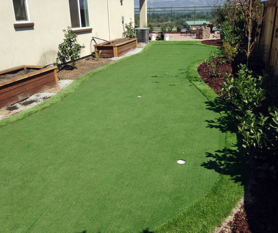 Artificial Grass Installation in Palm Springs, California