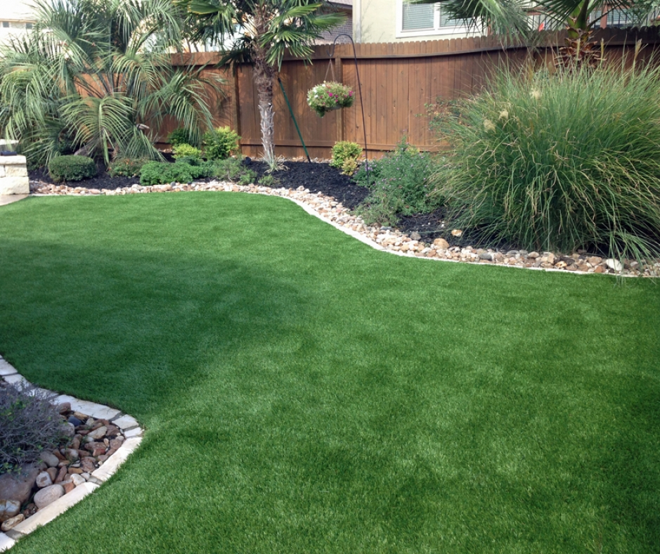 Artificial Grass Installation in Boerne, Texas