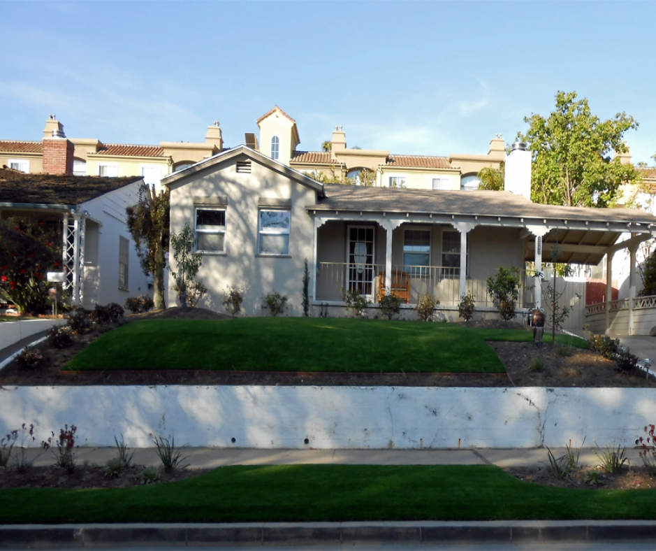 Artificial Grass Installation in Fontana, California