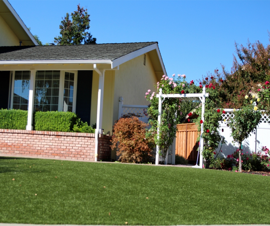 Artificial Grass Installation in Rialto, California