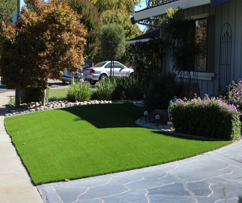 Artificial Grass Installation In Apple Valley, California