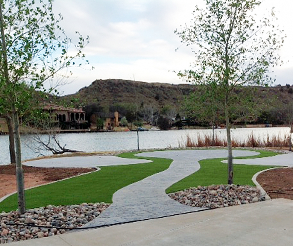 Artificial Grass Installation In Lubbock, Texas