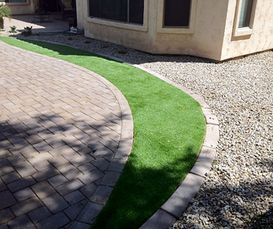 Artificial Grass Installation in Bisbee, Arizona