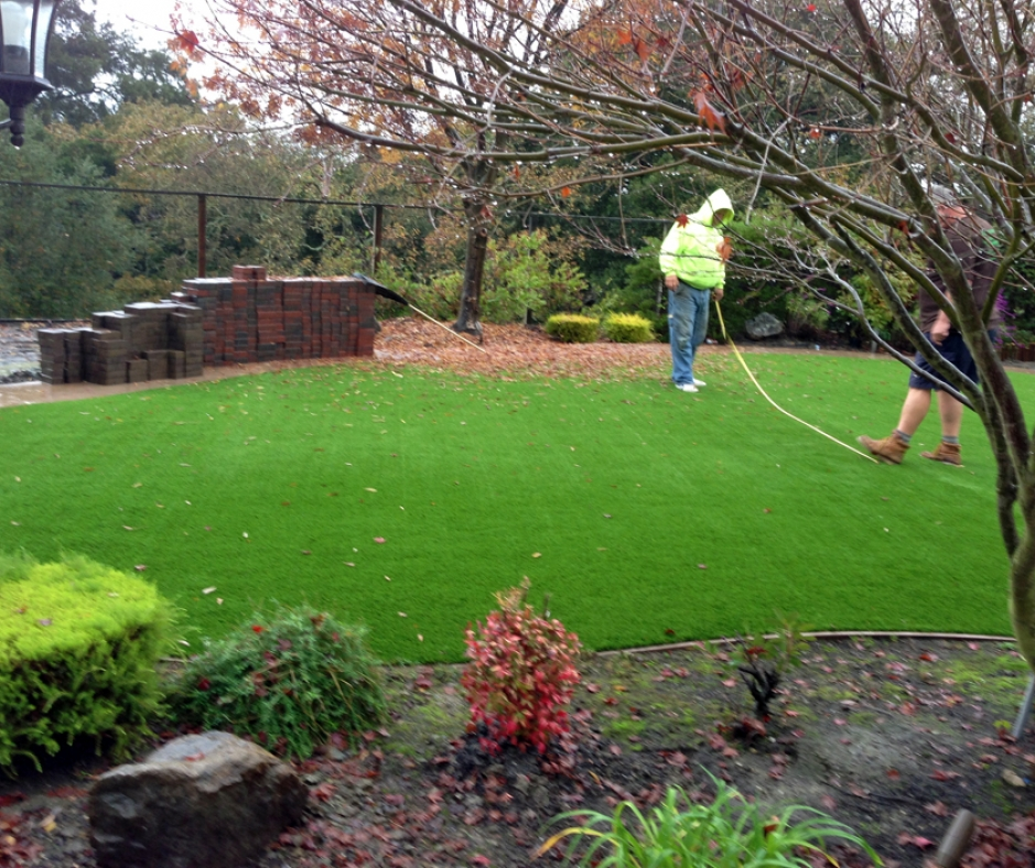 Artificial Grass Installation In Buffalo, New York