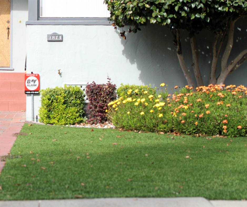 Synthetic Grass Lawn in Monterey Park, California