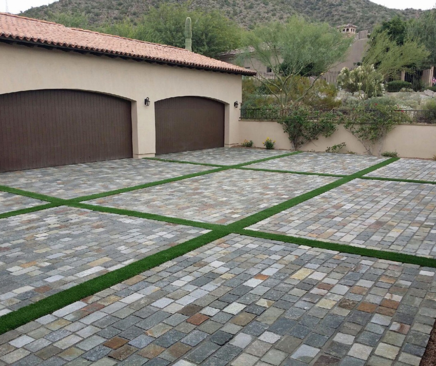 Artificial Grass Installation in Pflugeville, Texas