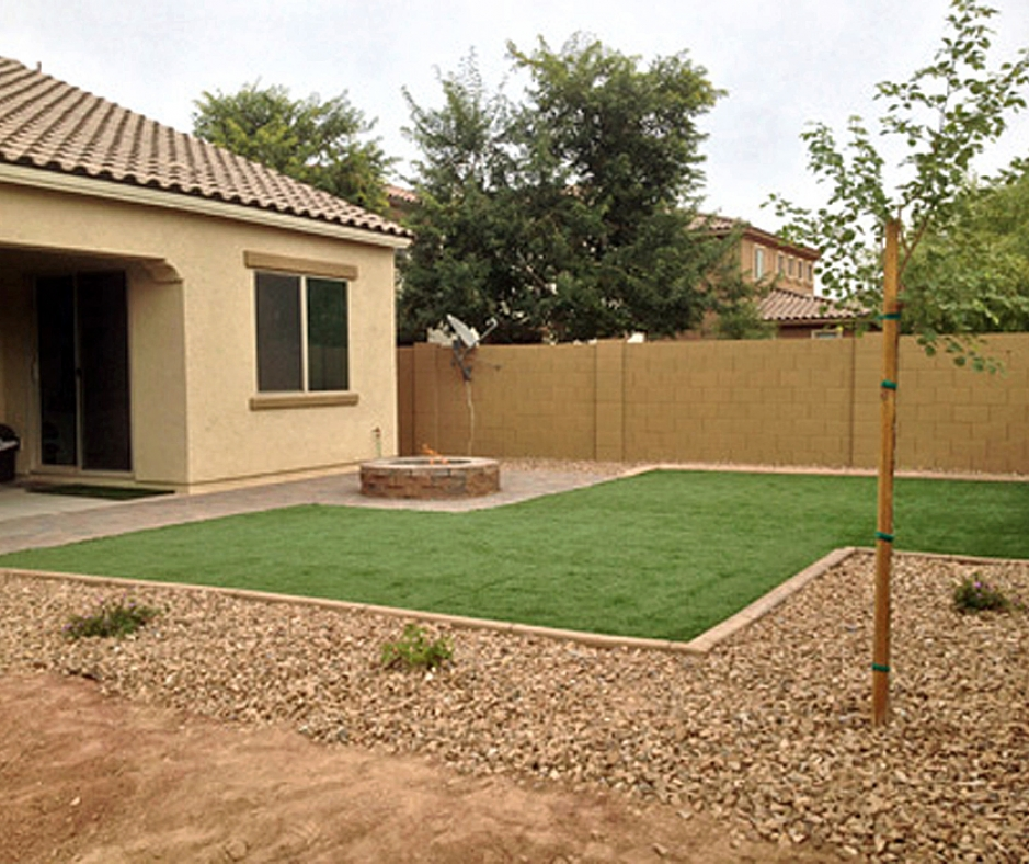Artificial Grass Installation in South Tucson, Arizona