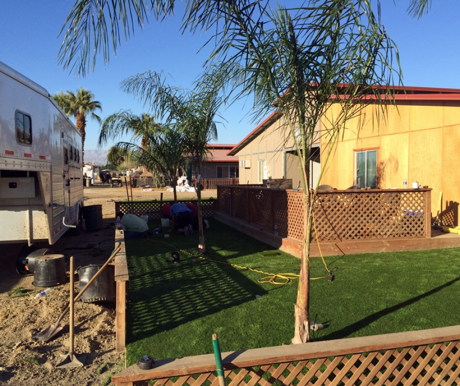 Artificial Grass Installation In Spring Valley, California