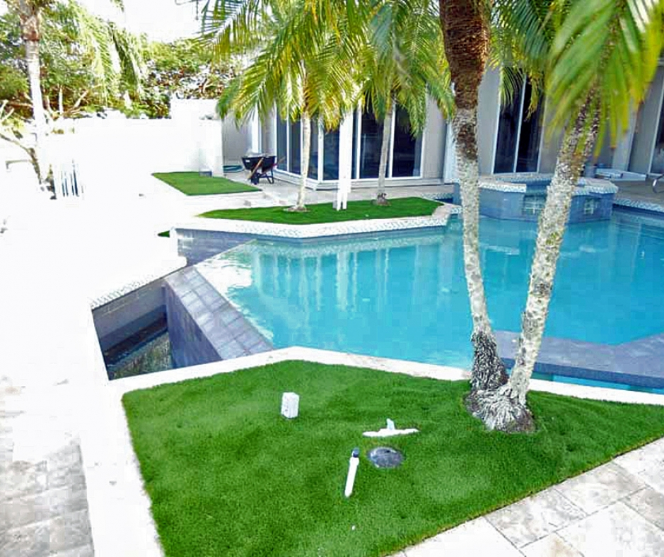 Artificial Grass Installation in Tamarac, Florida