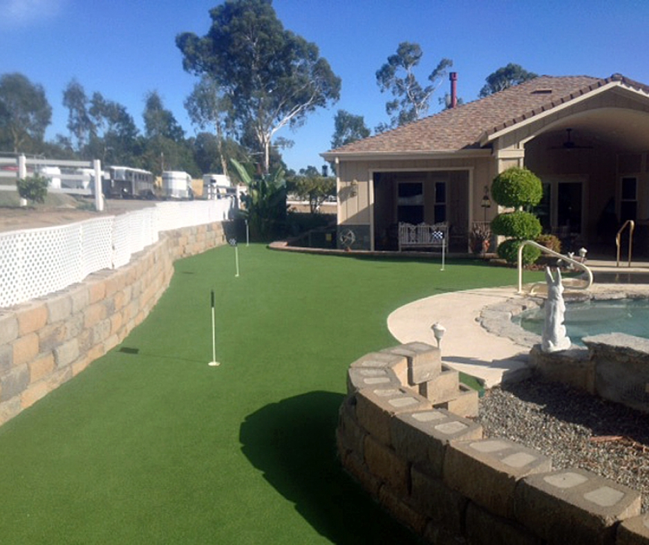 Artificial Grass Installation in Yountville, California