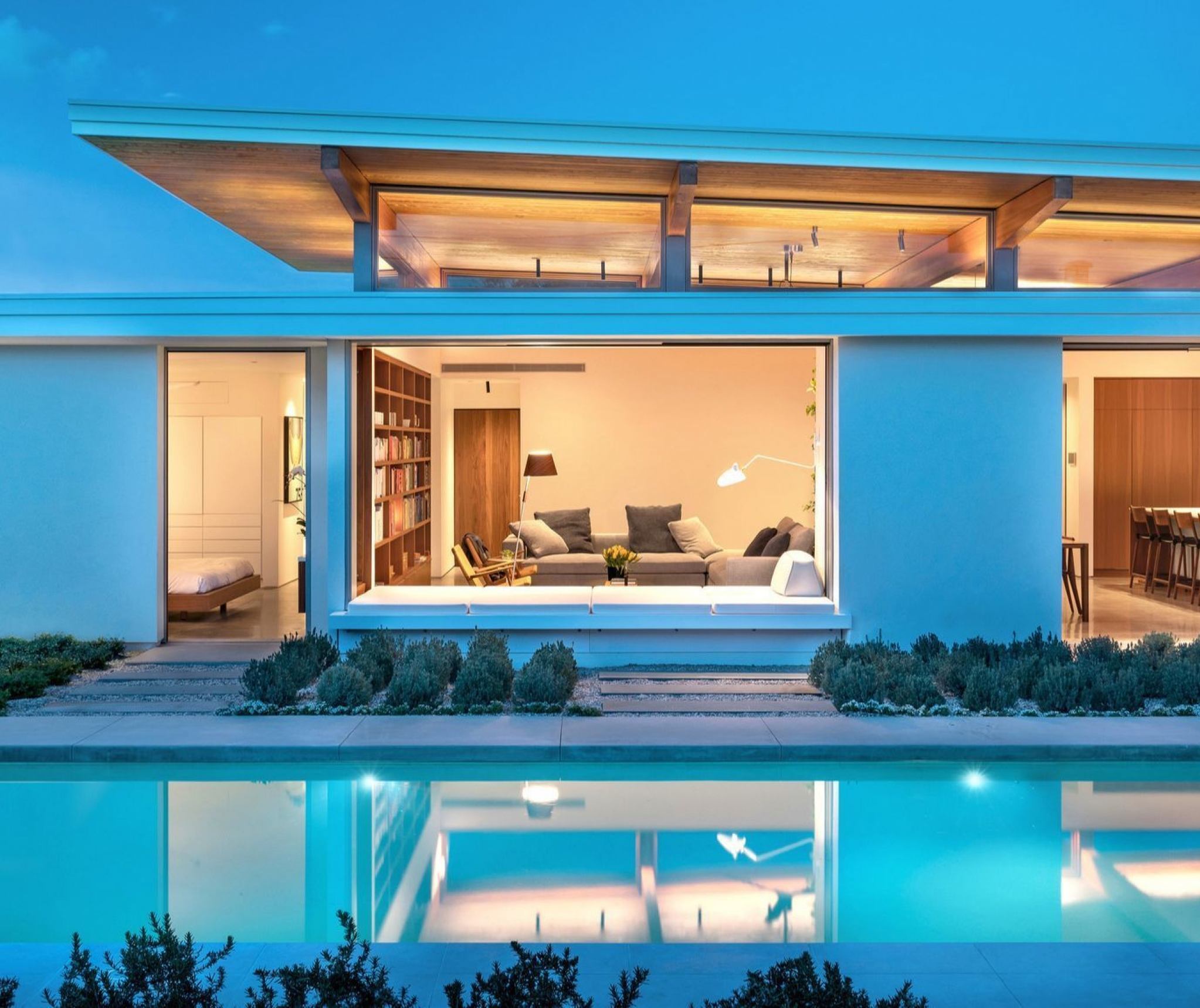 Can you believe this custom home is a prefab? Tour it during Modernism Week in Palm Springs
