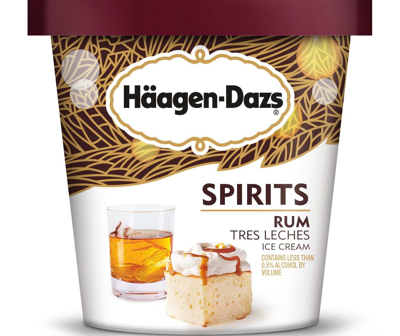 Hagen-Dazs launches new boozy ice cream treats, from Irish Cream Brownie flavor to Rum Tres Leches