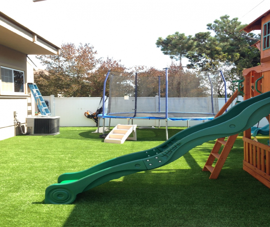 Synthetic Grass Playground Installation In Columbus, Ohio