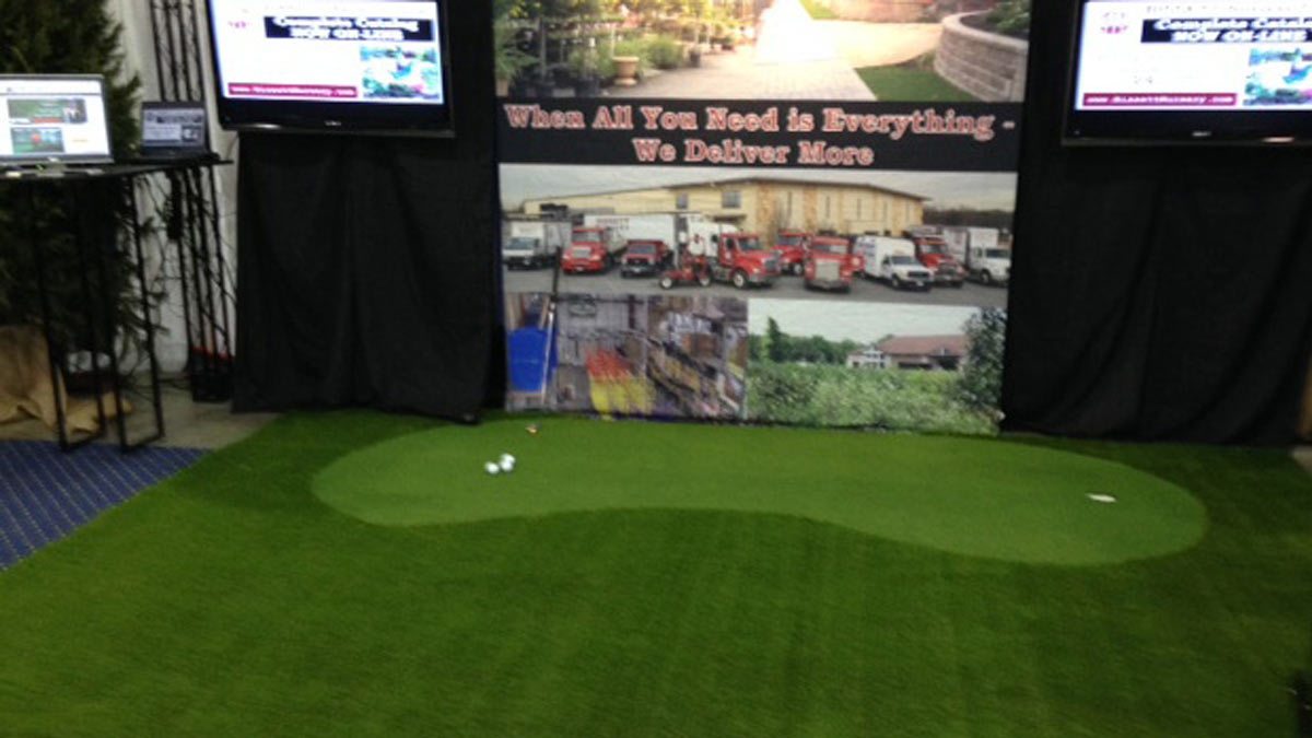 Golf Putting Green Showcase Global Syn-Turf