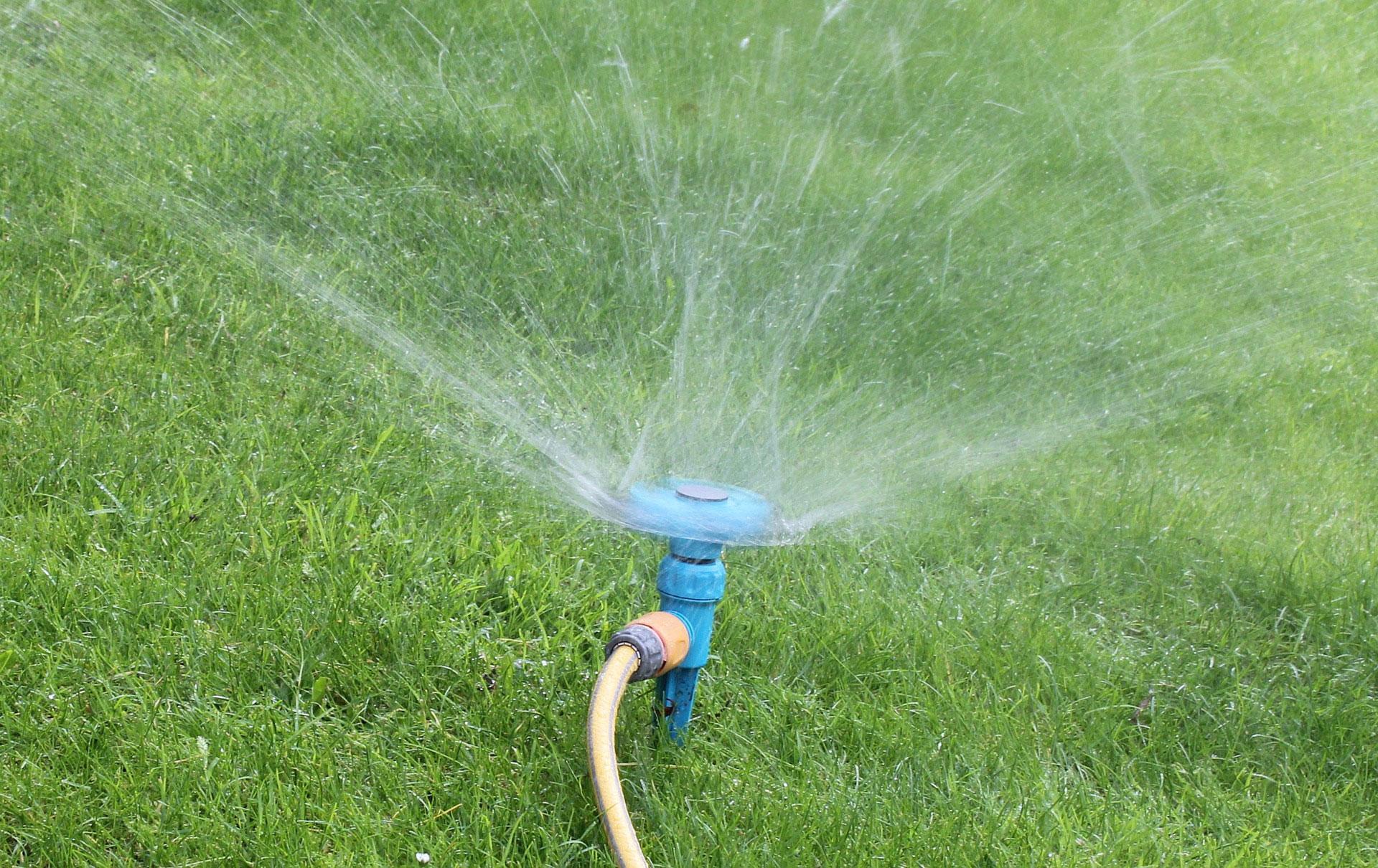 Lawn grass sprinkler