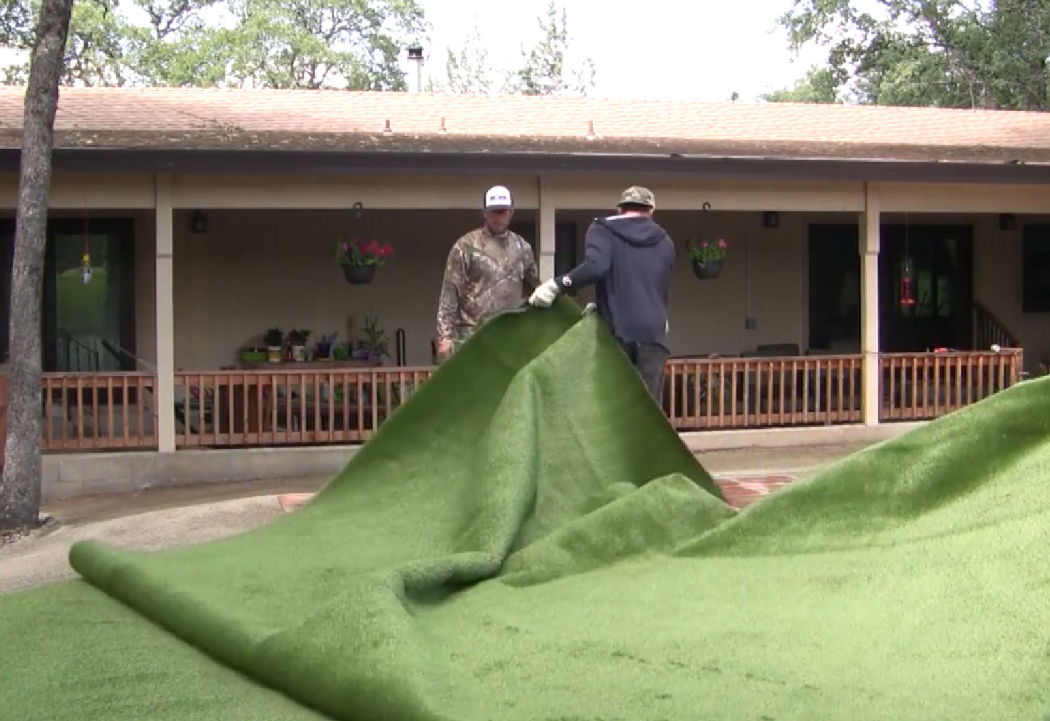 Artificial grass installation contractors