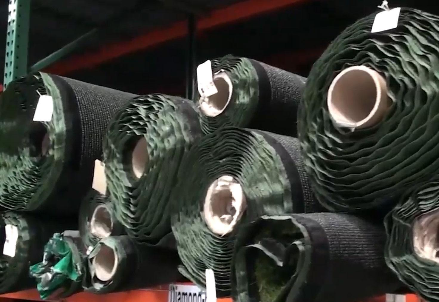 Artificial Grass Warehouse Rolls of Turf