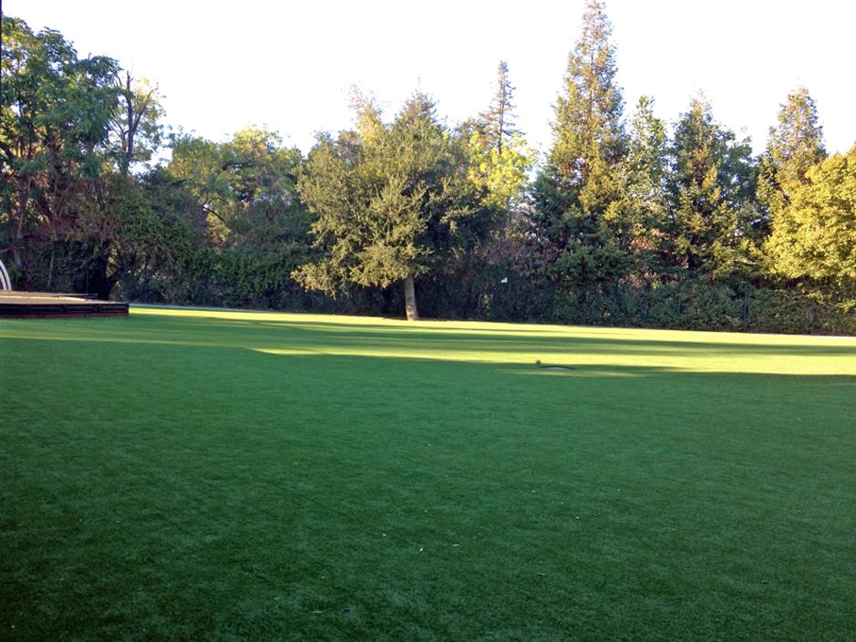 Artificial Grass Installation in Woodside, California