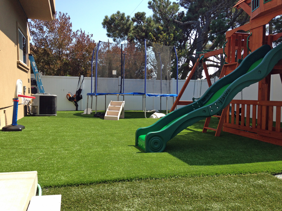 Synthetic play turf piedmont california alameda county for Landscape rock riverside ca