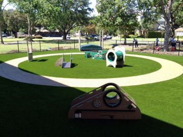 Playground Artificial Grass Houston Texas Harris County