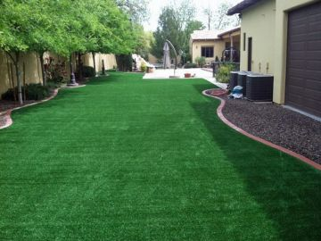 Synthetic Lawn Backyard San Jose Bay Area