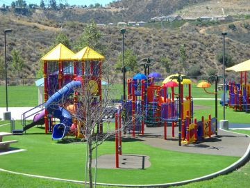 Play Grass Monterey Park California Los Angeles County