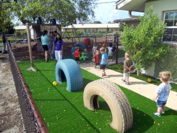 Synthetic Play Turf Palm Harbor Florida Pinellas County