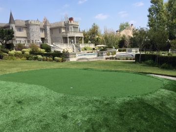 Backyard Putting Green Golf Rancho Santa Fe California