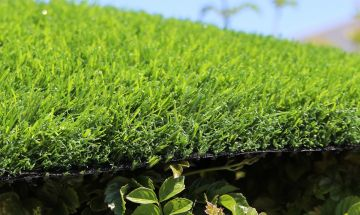 Artificial grass green synthetic turf fake grass always green thatching for landscapes lawns deck patio rooftops
