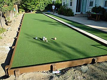 Artificial Grass Bocce Ball Borrego Springs California