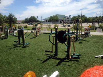 Playground Artificial Turf Daytona Beach Shores Florida