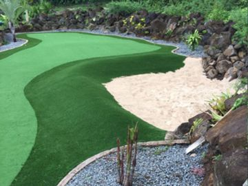 Synthetic Putting Green Installation Stanton California