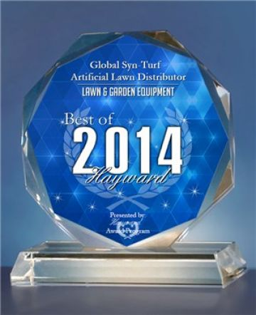 Artificial Grass - Global Syn-Turf - Artificial Grass Manufacturer has been selected for the 2014 Best of  Lawn & Garden Award