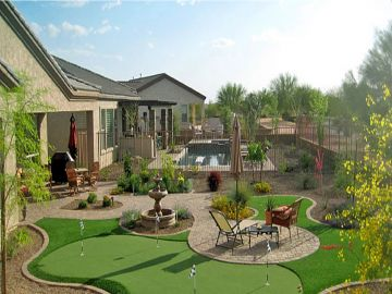 Artificial Grass - Synthetic Grass Installation In Phoenix, Arizona