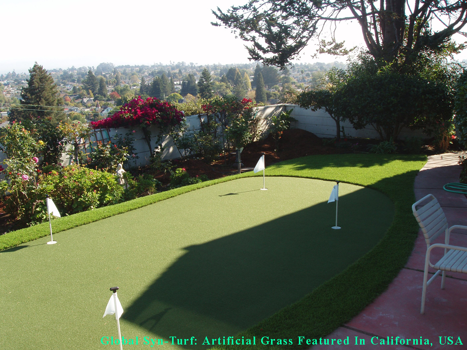 Backyard Golf Putting Greens In Scotts Valley, California