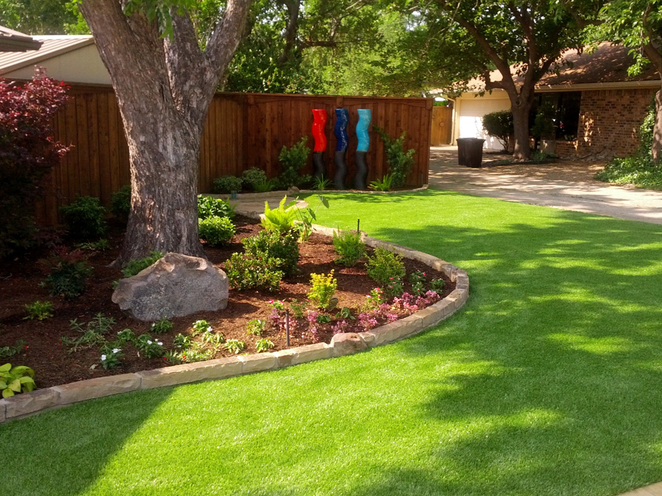 Turf installation artificial grass flower mound texas for Home turf texas landscape design llc houston tx