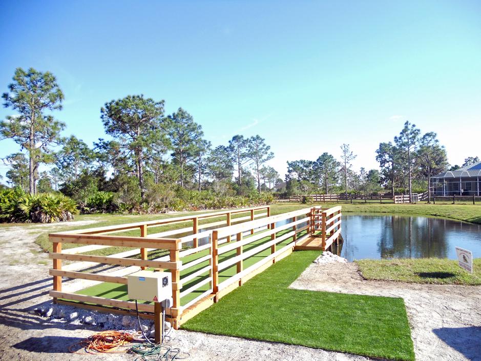 Artificial Grass Installation in Valrico, Florida