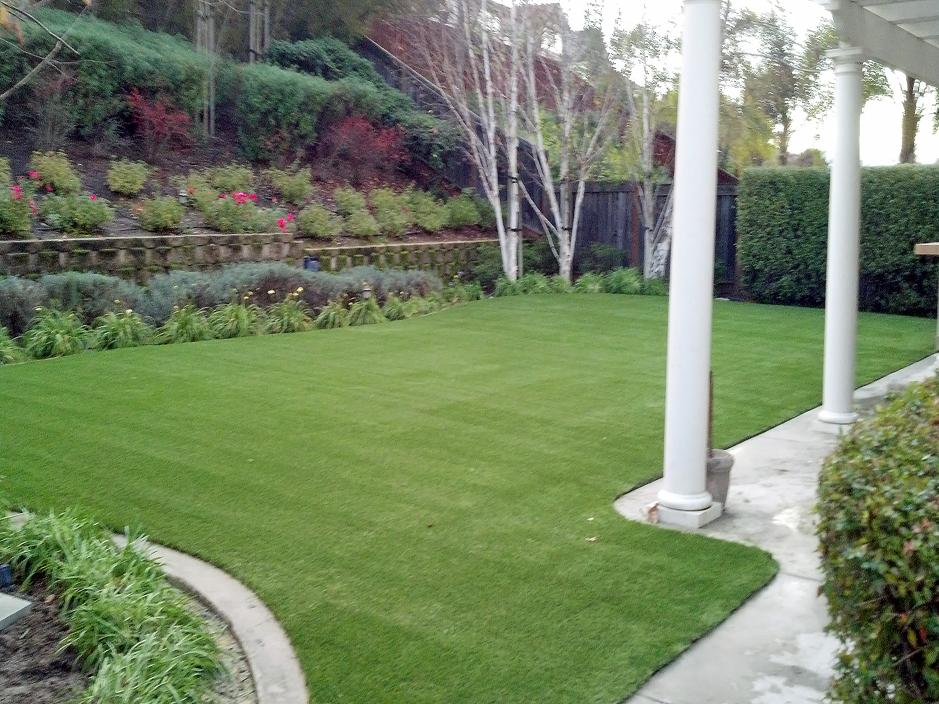 Turf installation artificial grass belmont california for Channel 4 garden design ideas