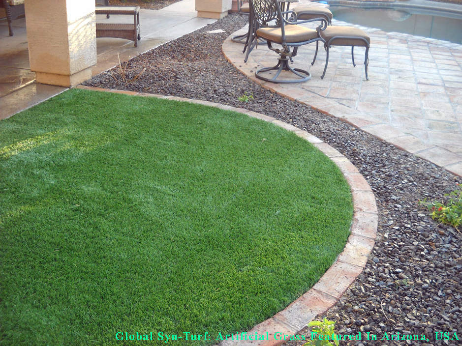 Round Patio Always Green Addition