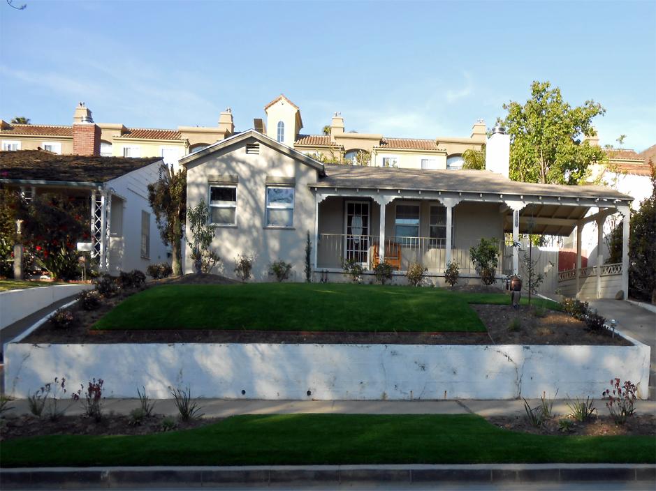 Artificial Grass Installation in Fontana, California