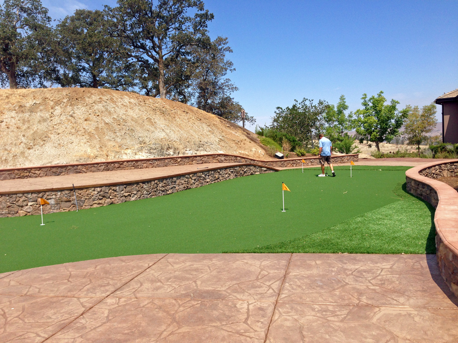 Artificial Grass Installation in Corona, California