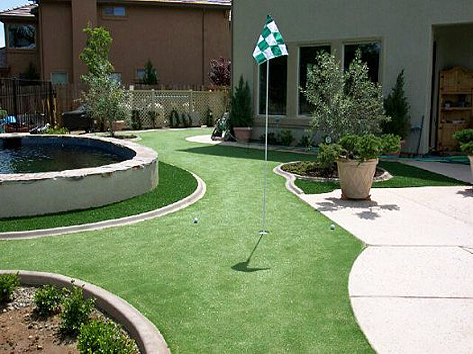 Artificial Grass Inglewood, California. Putting Greens ... on Artificial Turf Backyard Ideas id=25699