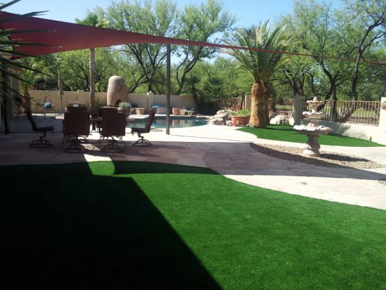 Swimming Pool Ideas Synthetic Grass Paradise California