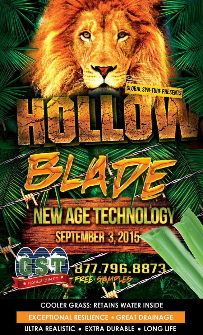 Hollow Blade Has Arrived! Artificial Grass That Keeps Moisture Inside To Stabilize the Temperature of the Lawn