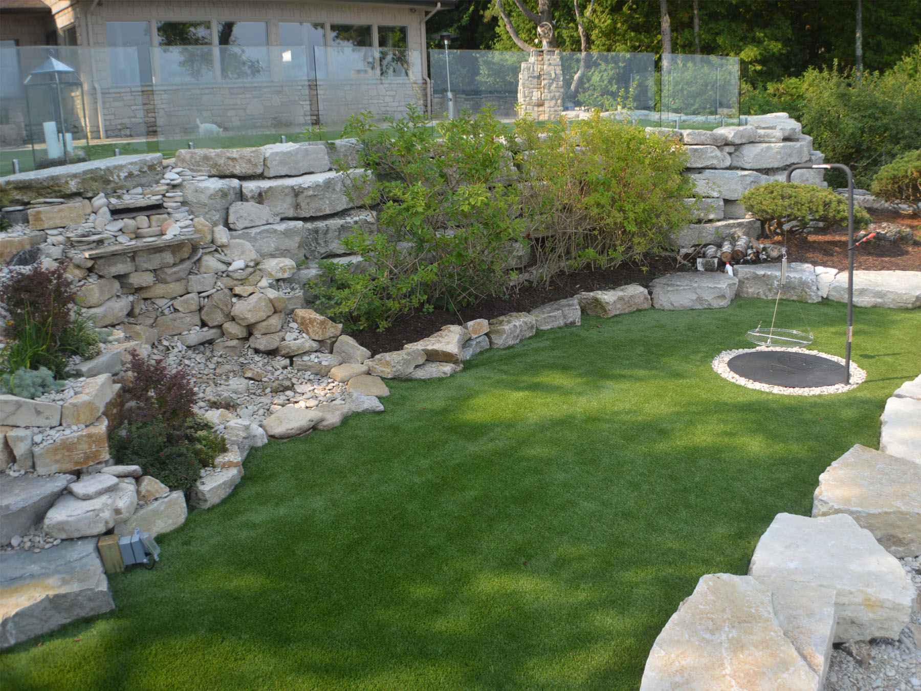 Artificial Grass, Fake Grass Installation in Sister Bay, Wisconsin