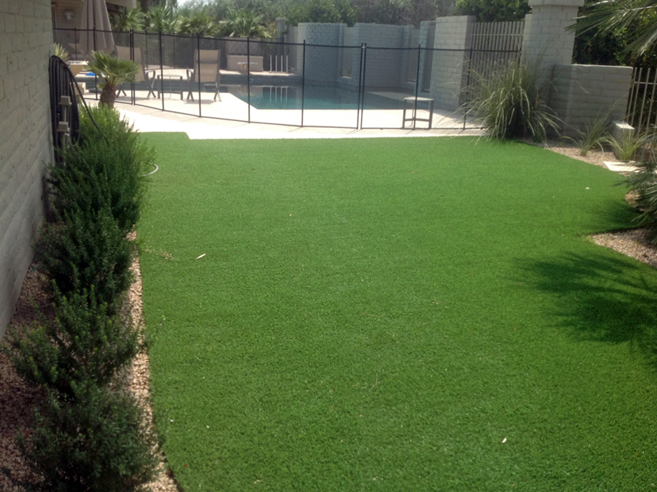 Artificial Turf Swimming Pool Install Payson Arizona