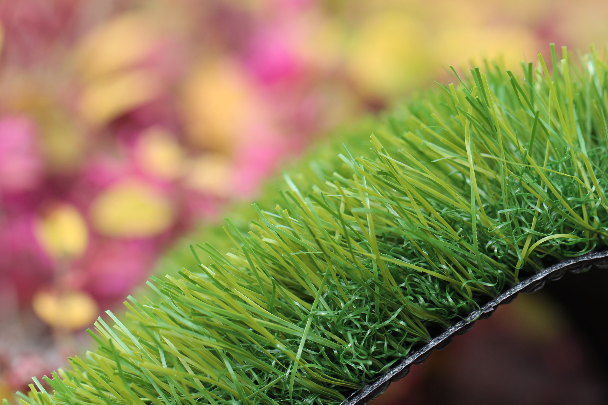 Olive-70 Green on Green Soft Artificial Turf