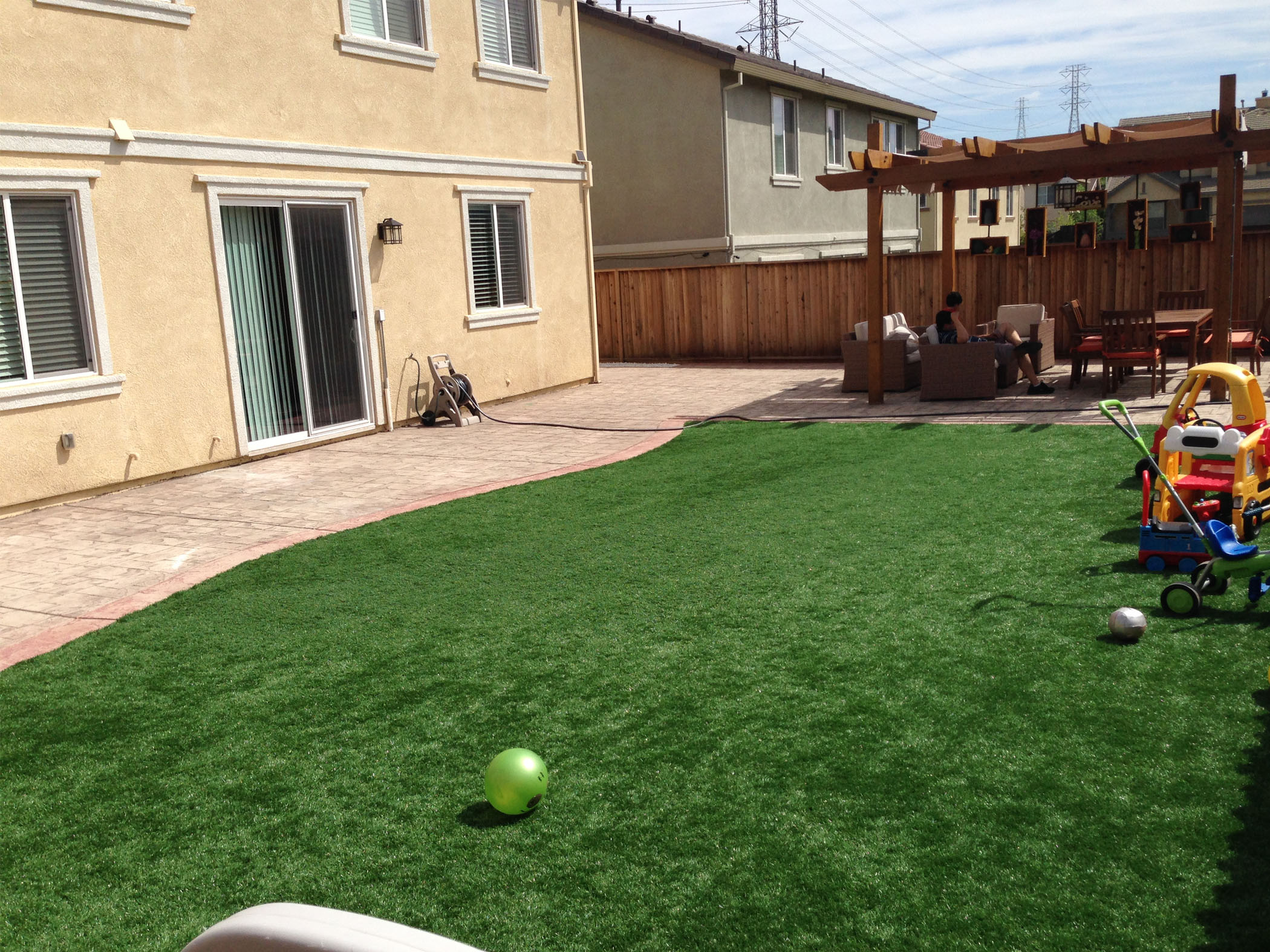 Turf Installation | Artificial Grass Tulare California ... on Artificial Turf Backyard Ideas id=96975